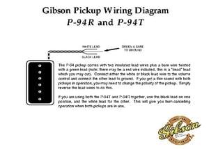 Enjoyable Gibson P 94R B C Pickup Thomann United States Wiring Digital Resources Bemuashebarightsorg