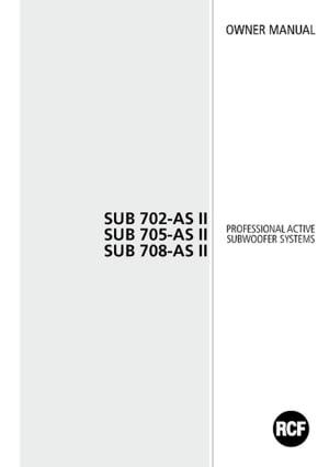 RCF Sub 705-AS II – Thomann United States