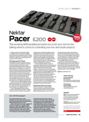 Nektar Pacer B-Stock – Thomann Ireland