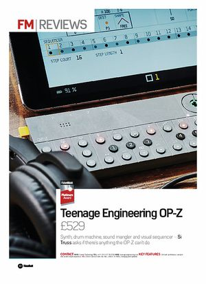 Teenage Engineering OP-Z Dream Machine B-Stock – Thomann Elláda