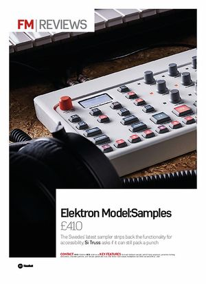 Elektron Model:Samples – Thomann United States