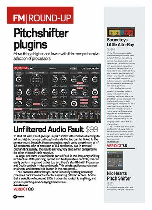 Kilohearts Pitch Shifter – Thomann UK