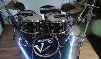 DRUM TEC E-Drum 6-teiliger Kesselsatz mit ROLAND TD-30 Soundmodul