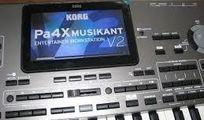 KORG Pa4X Musikant - TEMPLATE