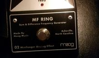 Moog Minifooger MF Ring Analog Effekt Pedal