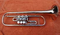 B Konzerttrompete von A.E. Fischer aus Bremen