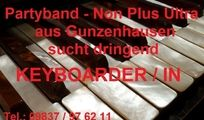 Keyboarder/in für Partyband aus Gunzenhausen gesucht !!!