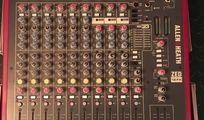 Allen & Heath ZED-12FX Mischpult / Mixer / Mischer mit Case