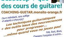 Cours individuels de Coaching Guitar