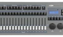 Showtec SM-16/2 FX Scanmaster DMX-Pult Lichtsteuerung mit Case