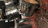 Ludwig Drumset Big Beat Chrome-O-Wood mit Snare Unikat
