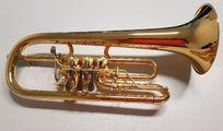Professionelles Jestädt Flügelhorn Modell 33 vergoldet