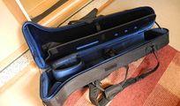 Protec PB - 306 CT Posaunen case/koffer/bag + regenschutz, rucksackträger