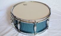 "Gretsch Catalina Maple Aqua Sparkle 14"" x 06"" Snare Drum, NEU!!!"