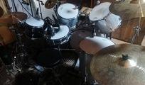 Schlagzeug-Set; Bestandteile EINZELN oder KOMPLETT, + Aufnahmeequipment