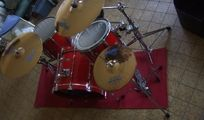 Edel Rock-Drum-Set