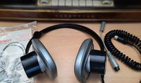 70er Jahre Vintage Kopfhörer Philips N 6301