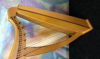 Keltische Harfe von Triplett Harps (USA)