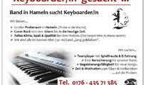 Keyboarder/in  gesucht  !!!