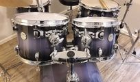 Drumset Meridian Maple Midnight Fade