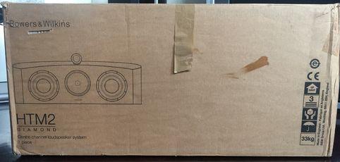 B&W HTM2 D2 Diamond center speaker