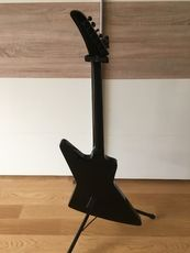 Epiphone 1984 Explorer Ebony with upgrades and SKB case.