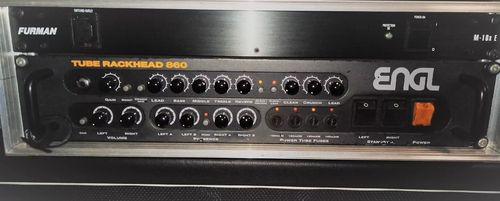 ENGL E860 Tube Rackhead Guitar Amplifier