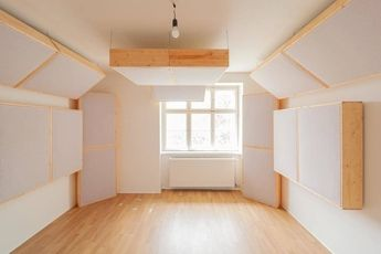 Production/mixing studios for rent. Acoustically treated & isolated