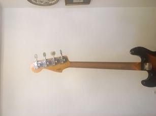 Vendo Bajo Fender JB Custom Shop Reissue 1966