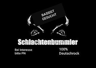 BASSIST GESUCHT