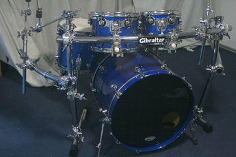 DW Performance Shell Set Saphire Blue | DrumSet-Kessel