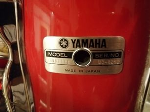 Yamaha 9000 Recording Custom BJ ca. 1992 Hot Red