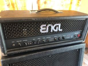 ENGL Fireball 100 100w all-tube guitar amp head + ENGL E412 pro speaker cabinet