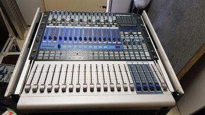 "PRESONUS StudioLive Mischpult in 2 THON 19"" Racks incl Zubehör"