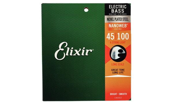 Elixir Nanoweb Light Bass Guitar