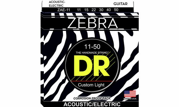 DR Strings VTA-11 Veritas Phos Bronze Acous Guitar Strings Custom Light 11-50