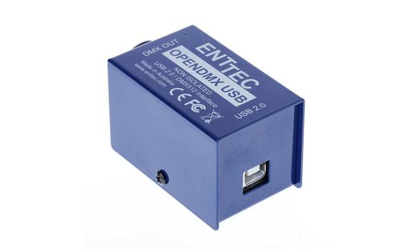 Super Enttec Open DMX USB Interface – Thomann United States WB-51