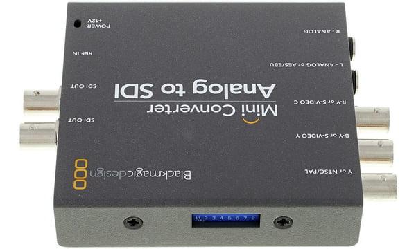 Blackmagic Design Mini Converter Analog Sdi 2 Thomann United States