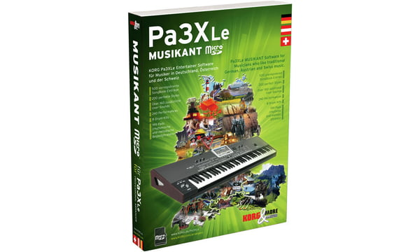 Korg PA-3XLe Musikant SD Dongle