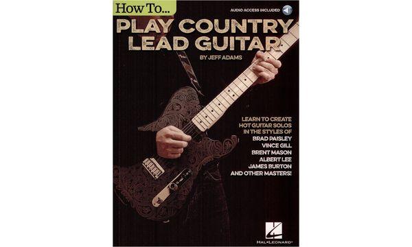 Hal Leonard Play Country Lead Guitar