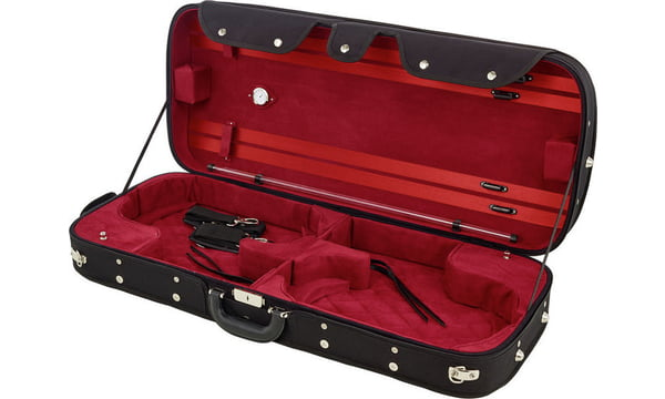 Petz Double Case for 2 Violins B/RD Hr1BvVK