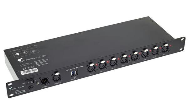 Stairville DMX Splitter 8 USB 3 pin