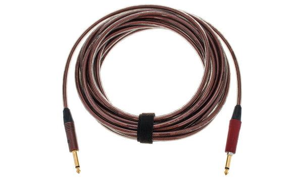 Cordial Instrumentenkabel 3 m mit 6,3mm Neutrik-Silent Stecker