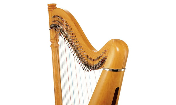 Thomann Pillar Lever Harp 38 Strings