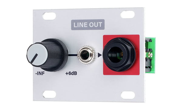 Intellijel Line In 1U Balanced Line Level Input To Eurorack Level Shifter Module