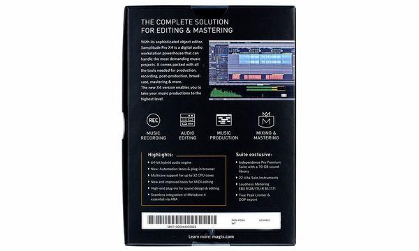 magix samplitude pro x silver audio-midi-sequenzer