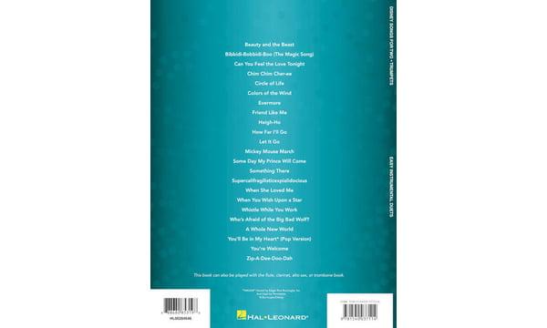 Hal Leonard Disney Songs For Two Trumpet