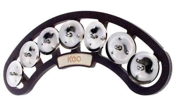 Keo Snare Tambourine 7 Pairs Jingle