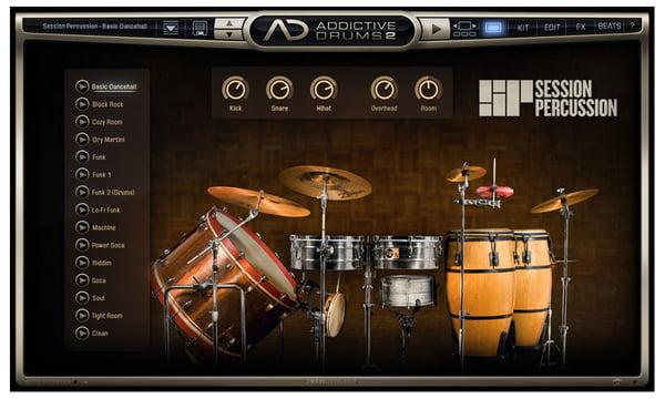 XLN Audio AD 2 Session Percussion