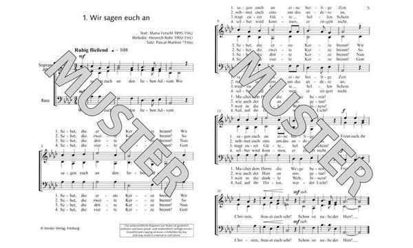 Schott Chor Together Christmas Sab
